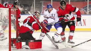senators shut out canadiens in nhl100 classic