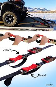 100 Truck Bed Tie Down System ShockStrap Ratchet ATV S W Shock Absorbers 2 X 9