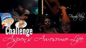 Pumpkin Pie Blizzard by Dq Pumpkin Pie Blizzard Challenge Family Vlog Youtube