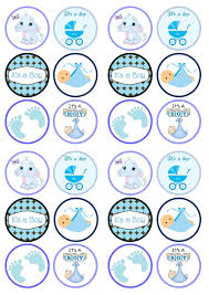 Manificent Design Baby Shower Cake Toppers Boy Enjoyable Cupcake Buscar Con Google Beb Y Bautizo