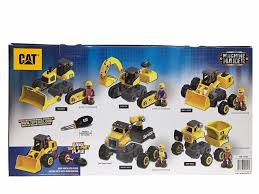 100 Caterpillar Dump Truck Toy CAT Machine Maker Junior Operator Building Set 46 Piece Car S