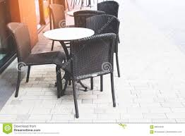 Empty Coffee And Restaurant Terrace With Classic Style Tables And ... Empty Table Chair Restaurant Boost Color Stock Photo Edit Now Ding Set For Dinner Room Small Cherry Style Contemporary Fniture Kids And Cafe Bistro Tables Chairs Droughtrelieforg Modern Industrial Bar Stools Rustic And Flash 36inch Round With Four Products Vector Table Chair Two Flat Icon Isolated Fniture Side Stool Supply Discount Find More For Sale At Up To 90 Coffee Terrace With Classic Shop Blur