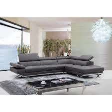 canapé cuir gris anthracite canapé d angle en cuir véritable siena pop design fr