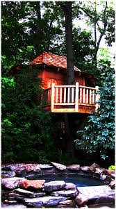 100 Tree Houses With Hot Tubs Hidden Cedar Mortise Tenon Tree House Above Hot Tub