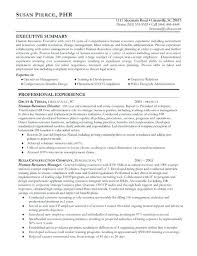 Resume Of Hr Recruiter Human Resources Example Headline For