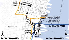 City of Hoboken NJ  NJ Transit to Cross Honor PATH Tickets