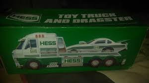 VINTAGE 2016 HESS Toy Truck And Dragster New In Box (box Alittle ...