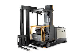 100 Turret Truck Forklift With Auto Positioning Operatorassist Technology 201705