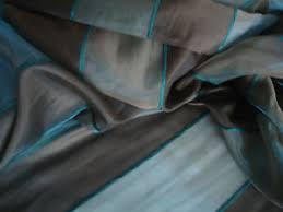details zu nr 2534 gardinen deko vorhang stoff braun petrol
