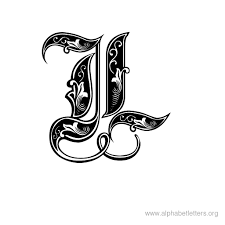 Download Printable Decorative Letter Alphabets