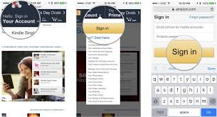 How to purchase and books with Kindle for iPhone and iPad
