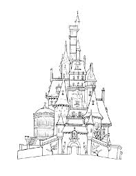 Disneyland Castle Coloring Pages 06