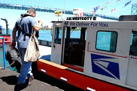 america s only floating post office delivers more than mail to