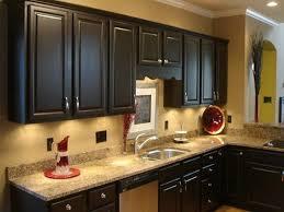 Kitchen Backsplash Ideas With Dark Wood Cabinets by Kitchen Color Ideas With Dark Cabinets Folding Microwave Shelf