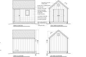 8x12 Storage Shed Blueprints by Bata Free Shed Plans 8 X 12 Saltbox