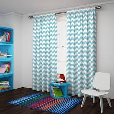 Grey And White Chevron Curtains Walmart by Eclipse Thermaback Blackout Wavy Chevron Curtain Panel Walmart Com