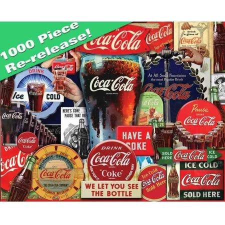 Springbok Puzzles Coca-Cola Decades of Tradition Jigsaw Puzzle - 1000pcs