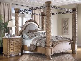North Shore King Sleigh Bed by Hang Curtains To Create A North Shore Canopy Bed Look Modern