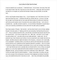 Love Letter To Him The Best Letter Sample