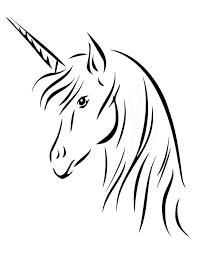 28 Collection Of Unicorn Head Drawing Easy