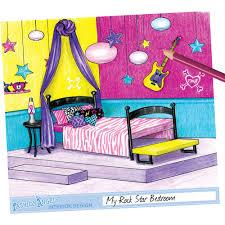 Interior Decorating Magazines Online by Fashion Angels Interior Design Sketch Portfolio Walmart Com Idolza