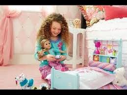 american doll bed youtube