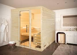 سلطعون ضروري نظف غرفة النوم sauna inkl ofen