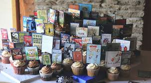 Book Themed Wedding Cupcakes Could Be Used As Table Seating Cards A Little Snack In Between The Cocktail And Reception To Keep Your Guests Sugary Sweet