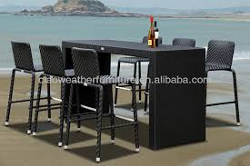 High Top Patio Furniture Sets by Best 25 Outdoor Pub Table Ideas On Pinterest Bars Throughout High