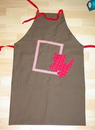 tablier cuisine pour enfant tablier réversible en tissu patron couture gratuit