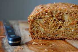 Brown Sugar Carrot Bread with Almonds