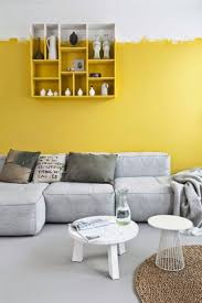 Yellow And Gray Bathroom Wall Art by 25 Best Yellow Accent Walls Ideas On Pinterest Gray Yellow