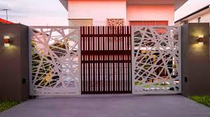 Creative Main Gate Ideas | Modern Front Gate Design | Entrance ... Decoration Home Door Design Ornaments Doors Main Entrance Gate Designs For Ideas Wooden 444 Best Door Design Images On Pinterest Urban Kitchen Front Beautiful 12 Modern Drhouse House Idolza Furnished 81 Photos Gallery Interior Entry Best Layout Steel