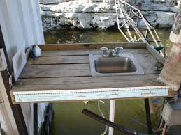 Fish Cleaning Station With Sink by Fish Cleaning Table