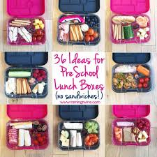 Lunchbox Ideas For PreSchoolers
