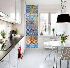 cuisine carreaux stickers pour carrelage dans la déco cuisine ou salle de bains