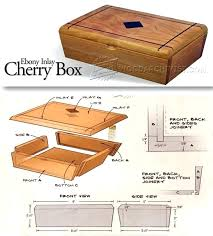 Small Wooden Box Plans Inlay Woodworking And Projects Free