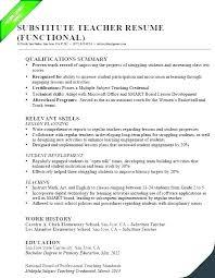 Qualifications Summary Resume Example Skills Sample Work Experience Cc Education