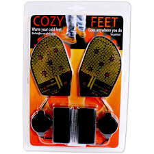 100 Foot Cozy Feet BatteryPowered Warmers Walmartcom