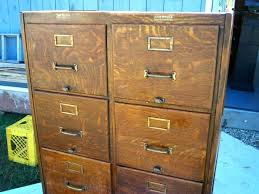 vintage wood file cabinet – upandstunningub