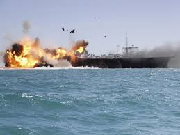 Uss America Sinking Photos by Iran U0027s Recent Naval Exercise Is A Show Of Force Independent Of Any