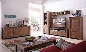 bellatrix 3 wohnzimmer komplettset wohnzimmerkombination wohnwand akazie dunkel