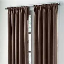 Brylane Home Curtain Panels by Brylanehome Studio Cotton Canvas Solid Grommet Panel Curtains