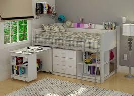 desks 67 block stripe bedroom bunk beds with desk and storage deskss