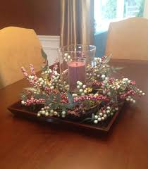 Centerpieces For Dining Room Tables Everyday by Dining Table Centerpiece Ideas For Christmas Dining Room With