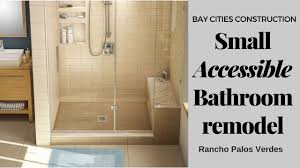 Small Accessible Bathroom Remodel | Rancho Palos Verdes - YouTube Designing Handicap Accessible Bathrooms Your Project Loan Bathroom Designs Shower With Disabled Design Vip Access Adacompliant Layouts Hgtv Fleurco Introduces The Accessible Design Shower Bases A Base In Stylish H86 For Home Styles For All This Ada Restroom Guide Renovations Aging In Place Handicap Accessible Bathroom Remodel Josemartezinfo Mavi New York Planning