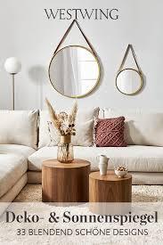 dekospiegel in trendigen styles sonnenspiegel westwing