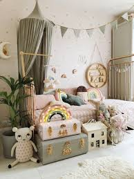 grey and blush mädchen schlafzimmer velveteen infants