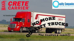 CRETE CARRIER No Longer Leasing On QUALITY LEASE TRUCKS For Lease ... How To Succeed As An Owner Operator Or Lease Purchase Driver Lepurchase Program Ddi Trucking Rti Evans Network Of Companies To Buy Youtube Driving Jobs At Inrstate Distributor Operators Blair Leasing Finance Llc Faqs Quality Truck Seagatetranscom Cdl Job Now Jr Schugel Student Drivers