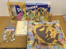 Image Is Loading Dinobones Vintage 1980s Board Game Warren Complete